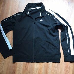 Nike Warm Up Jacket Zipper Front Sz. Large (12-14)